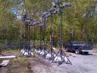 4-Head Light Towers