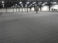 New Carpeting in Show Barn
