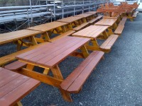 Picnic Tables 40 qty