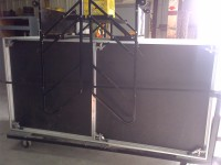 Portable Black Stage Sections (4x8) 36 qty