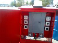 Red RV Power Converter Box 2 x 50 amp + 8 x 110v