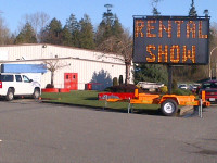Show Barn (electric sign out front)